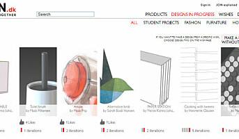 Lanserer idébank for designere og produsenter