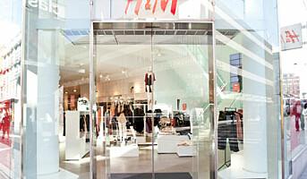 Færre H&M-butikker