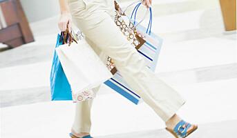 Tre fjerdedeler av omsetningen skjer i kjøpesentrene