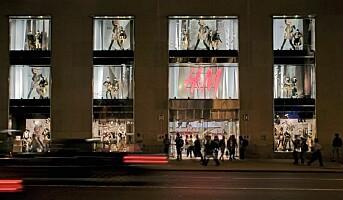 H&M med nytt butikkonsept