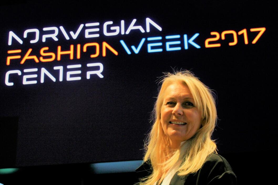 Jannike Moe, daglig leder i Norwegian Fashion Center