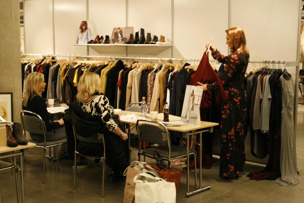 Godt over 100 utstillere md klær, sko, tilbehør og smykker på MotemessenOslo
