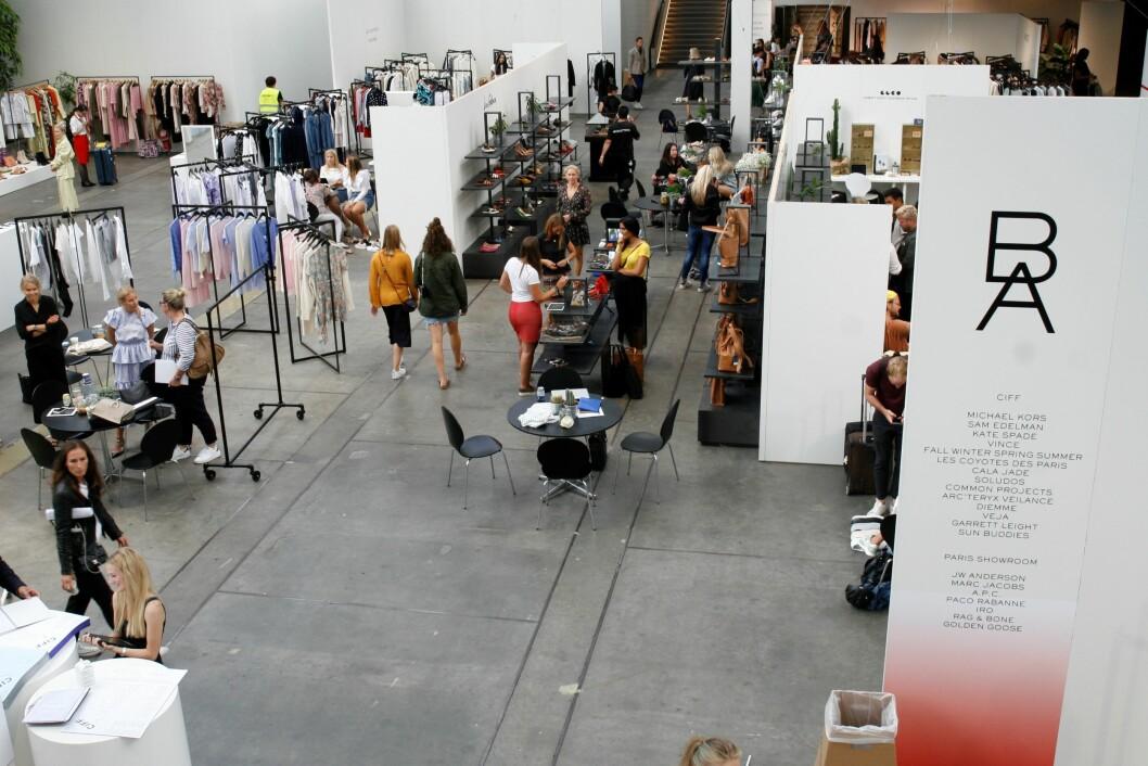 Blender-standen dekket et stort område i senmterhallen i Bella Center