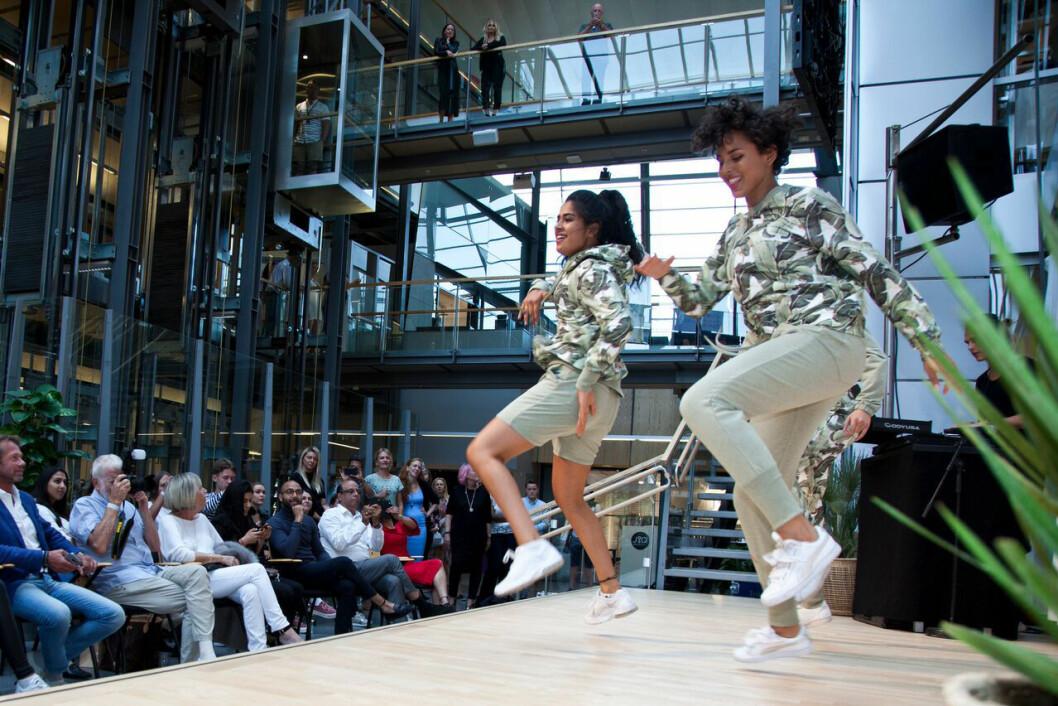 Det blir show og visninger i Norwegian Fashion Center (Foto: Helene Remøy)