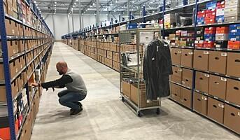 Nytt Zalando-lager, halvert leveringstid