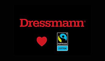 Dressmann størst på Fairtrade-bomull