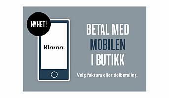 Digitale betalingsløsninger i KappAhl-butikkene