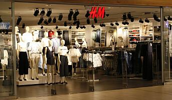 H&M faller