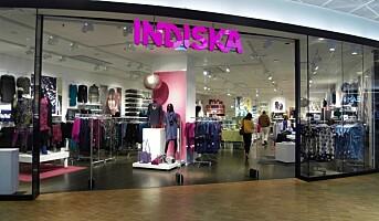 Indiska stenger fem butikker i Norge
