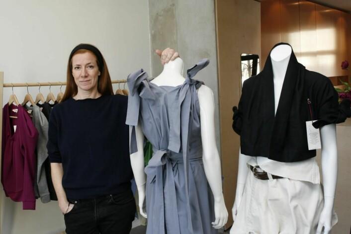 Charlotte Høyem satser med egen butikk på Grünerløkka. (Foto: Ove Hansrud)