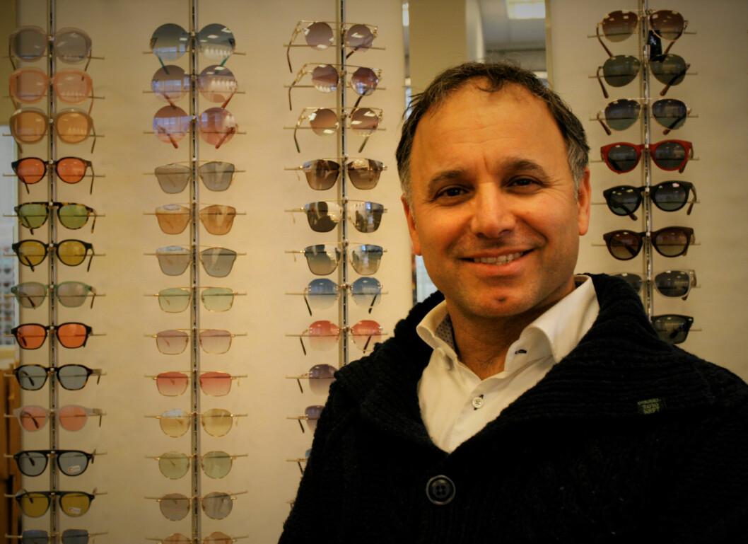 Moshe Ohana er mannen bak brillemerket Mokki.