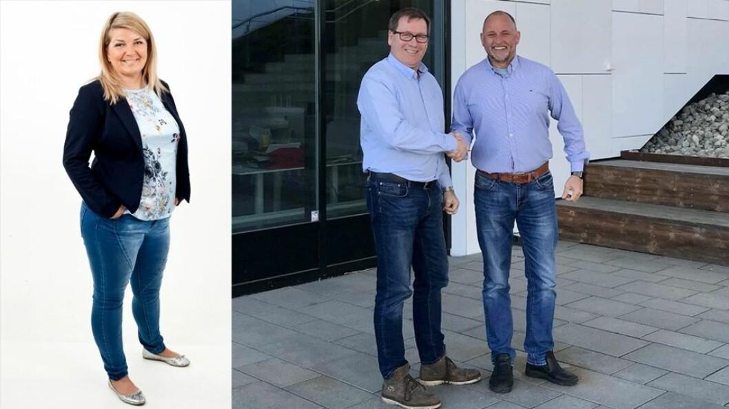 Gøril H. Florrvaag, Lars Lindstad og Helge Mønnich