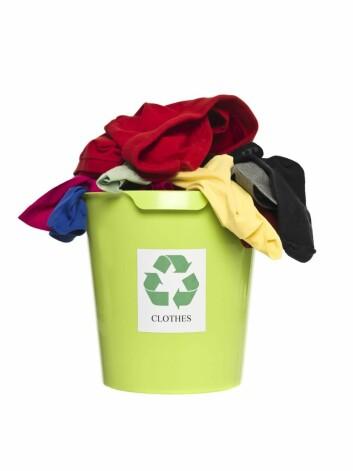 Mange problemer med resirkulering av klær. Illfoto: Yay Images