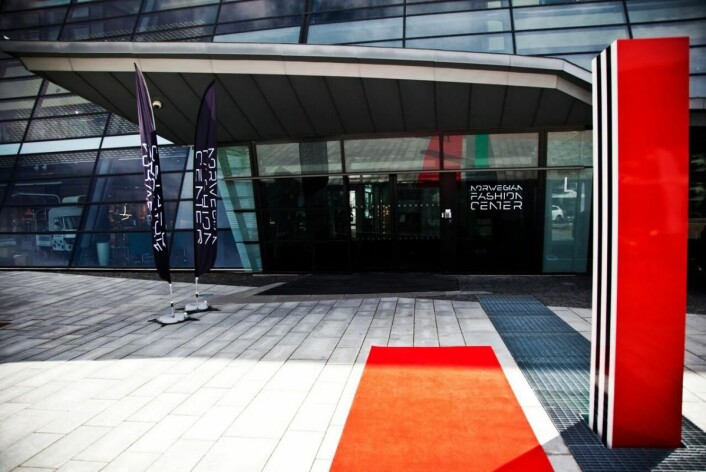 Norwegian Fashion Center er klar med den rødeløperen 11. august (Foto: Helene remøy)