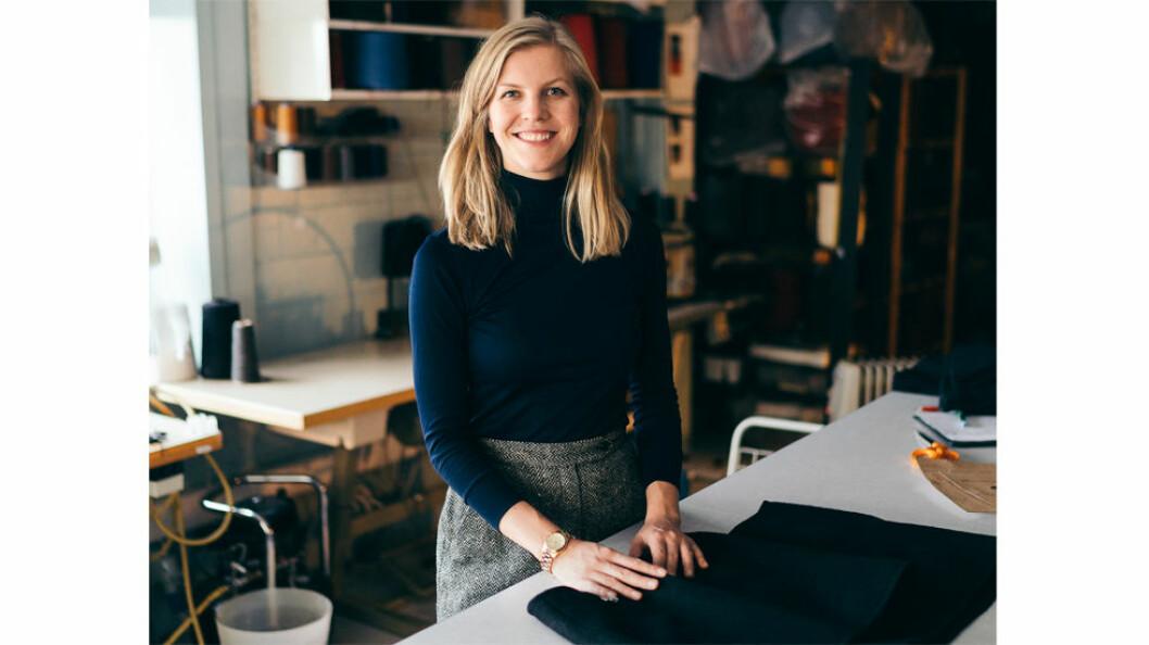 ESP og Elisabeth Stray Pedersen er nominert til Woolmark Prize. (Foto: Kari Gjerstadberget)