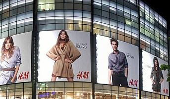 H&M med hologram og stemmestyrt app