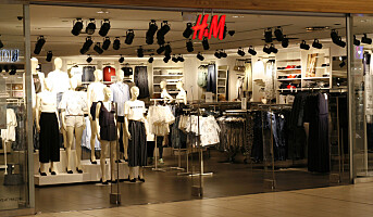 To prosent økning for H&M