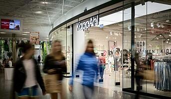 KappAhl legger ned 20 butikker