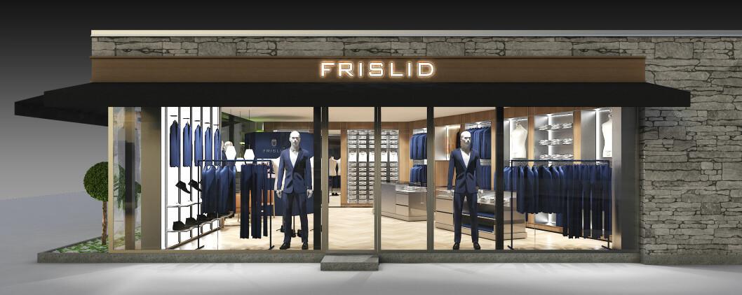 Slik vil Frislids nye concept store i Hegdehaugsveien se ut.