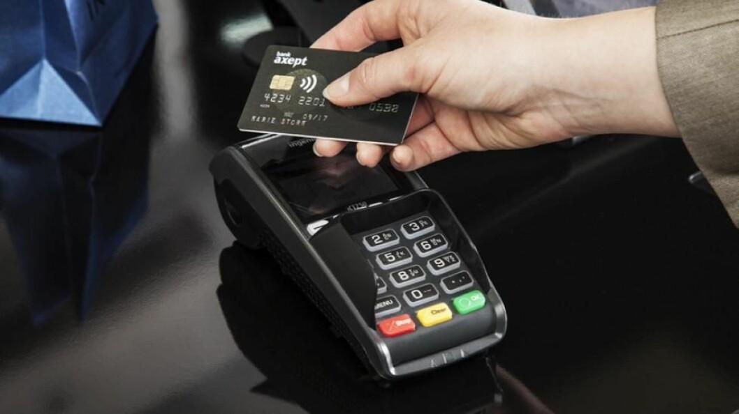 Rekordhøy bruk av tæpping - kontaktløs betaling - i august.