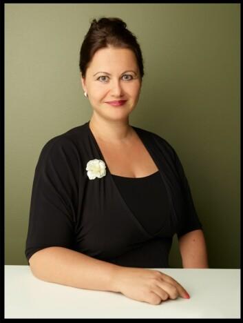 Ina von Turow er daglig leder og grunnlegger av appen<br />FNDR.&nbsp;Foto: Haakon Eltvik