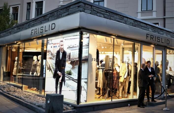 Den nye Frislid-butikken ligger godt synlig i Hegdehaugsveien.