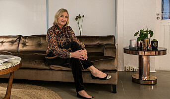 Katrin Uri med sitt første presseevent