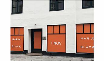 Maria Black åpner pop up-butikk i Oslo