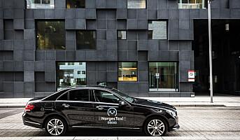 22 prosent taxirabatt med Norgestaxi