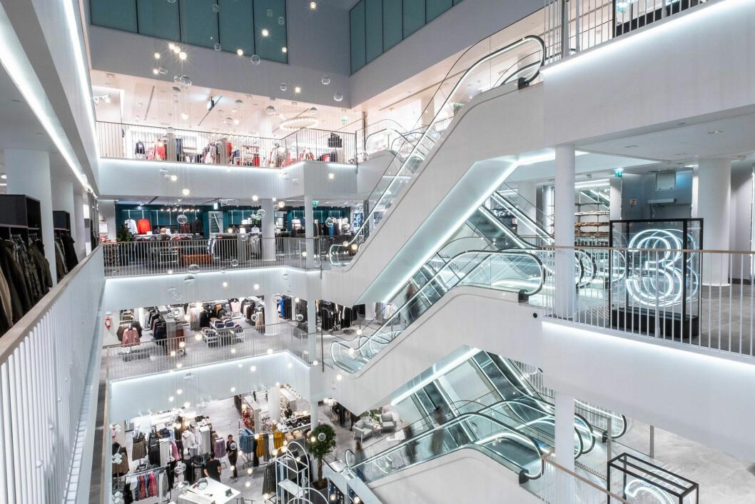 H&M i fem etasjer og 4500 kvadratmeter (Foto: H&M)
