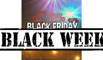Black Friday blir Black Week