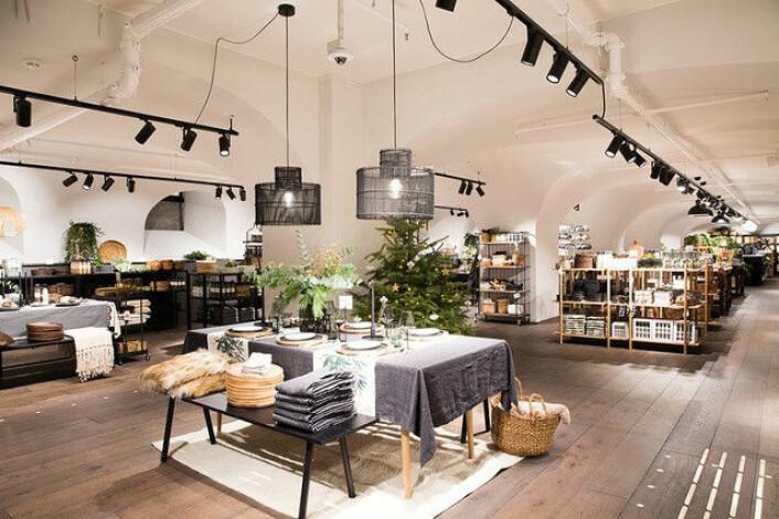 Første H&M HOME i Norge. (Foto: H&M)
