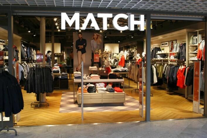 Match hadde en positiv utvikling, både i omsetning og antall butikker