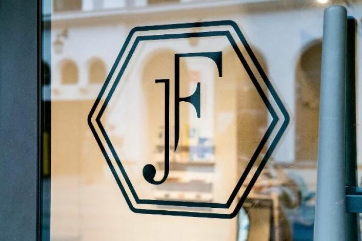 Just Fashion, logo.  Foto: Alexander Thorsen