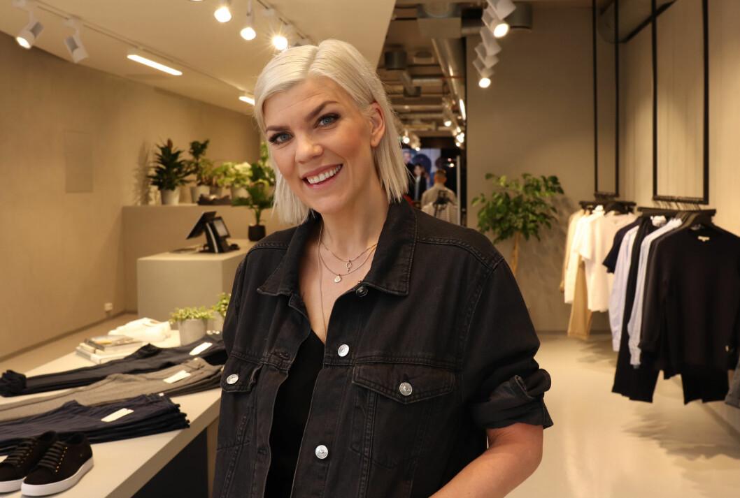 Gunn Heidi Lilleengen er stolt av kolleksjonen og butikken i Grensen i Oslo