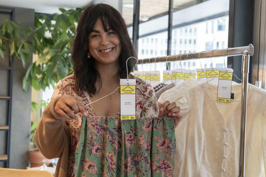 Maria Mena er en av kjendisene som bidrar til kolleksjonen