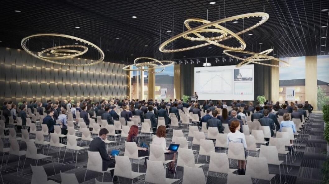 KOnferansen går i The Hub