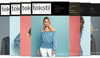 Tekstilforum 3/2019 er ute nå