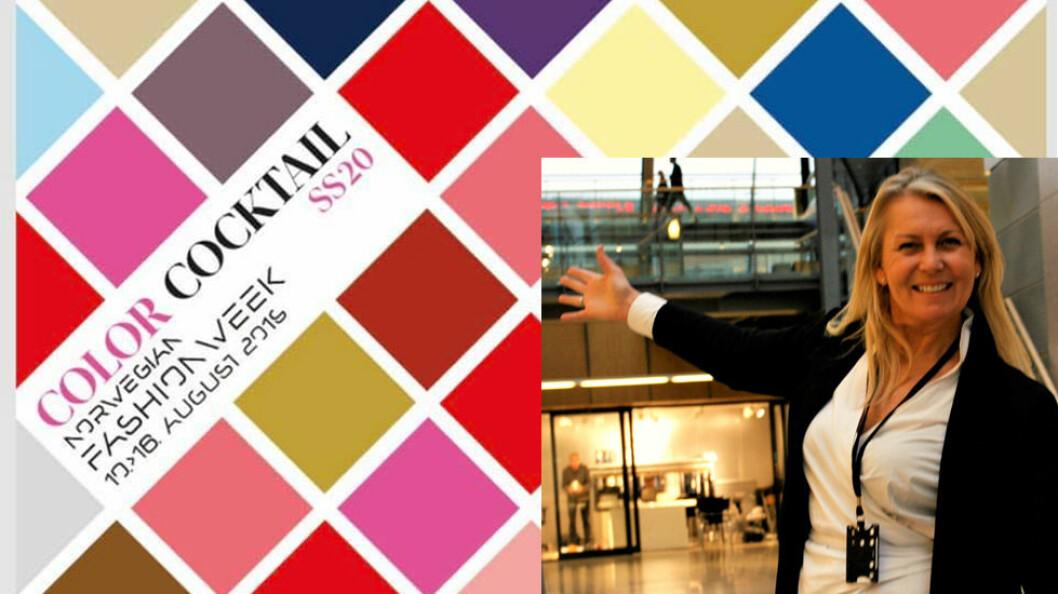 Jannike Moe ønsker innkjøperne velkommen til en fargerik og faglig Fashion Week på Fornebu
