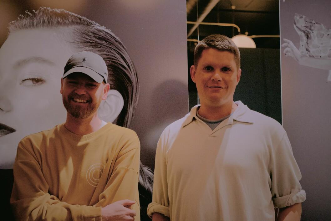 Michael Olestad og Lars Ekroth. Foto: Fushion/Kathrine Janjak