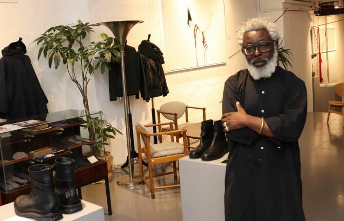 Kunst og klær hos T.MIchael
