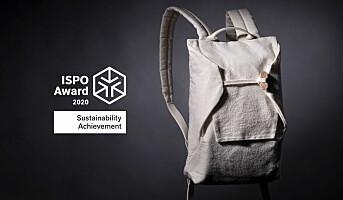 ISPO Award til Bergans og Spinnova