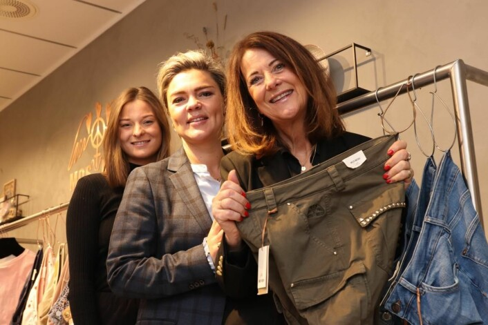 10 år med Mos Mosh-suksess: Kristin Ruud, Pia Wendelboe Perez og Hedvig Ruud