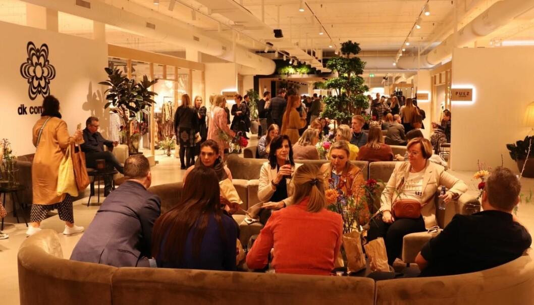CIFF inviterer til en komprimert messe i CIFF Showrooms. Her fra DK Companys nye showroom, som ble åpnet i februar.SS