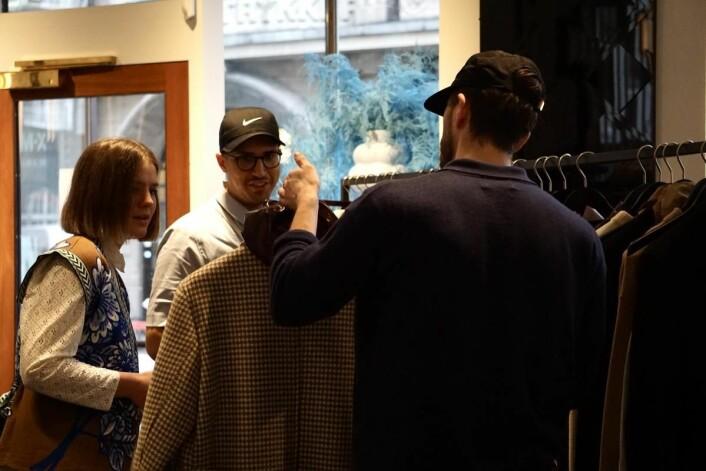 8 norske merkevarer i samme showrom i København.