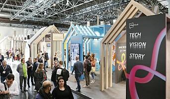 Euroshop: Lys, levende bilder og teknologi