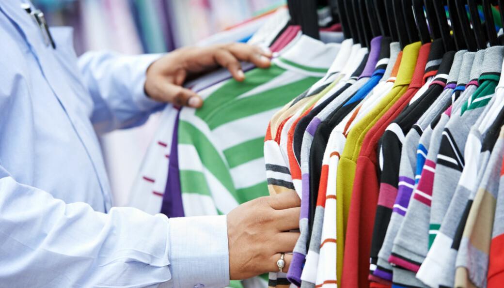 Snart kommer krav om utvidet produsentansvar for tekstiler. Foto: Colourbox