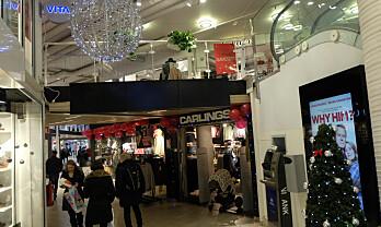 Mindre julehandel i uke 50, klær og sko sliter