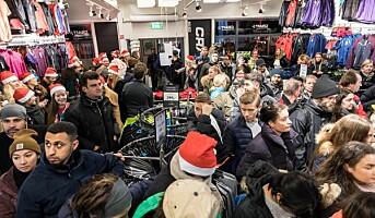 NHO venter rekordvekst i julehandelen