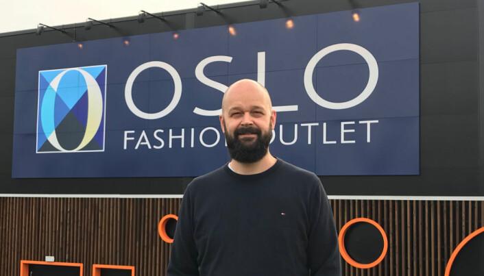 Lars Pedersen – ny senterleder på Oslo Fashion Outlet.